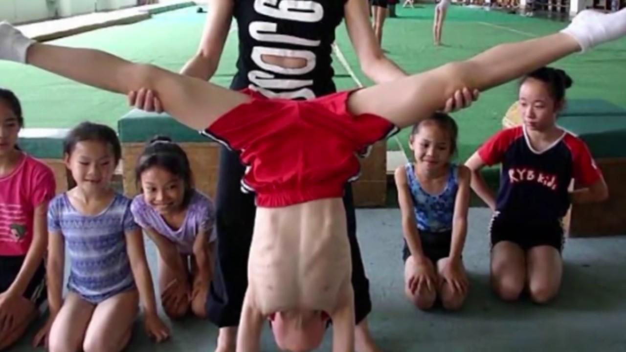 شاهد كيف يدرب الأطفال للأولمبياد في الصين
