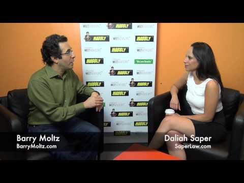 Daliah Saper with Barry Moltz
