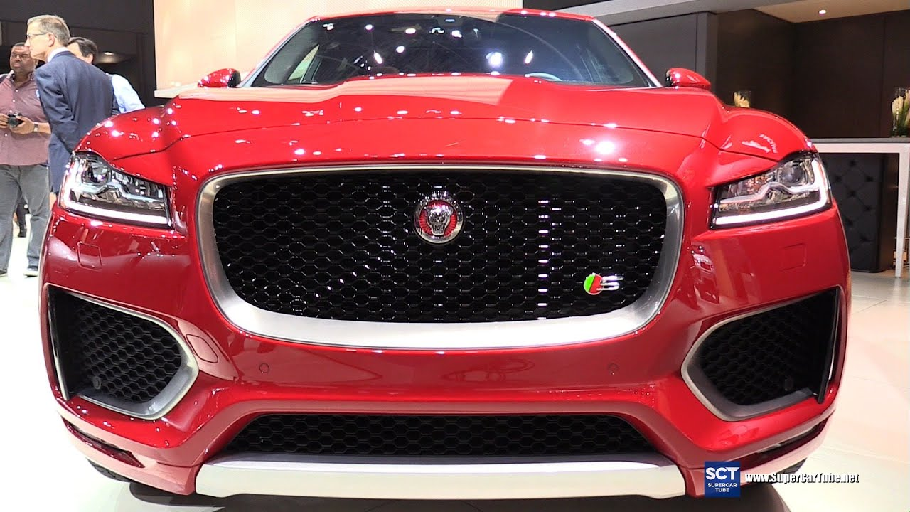 2017 Jaguar F Pace S Awd Exterior And Interior Walkaround 2016 New York Auto Show Youtube