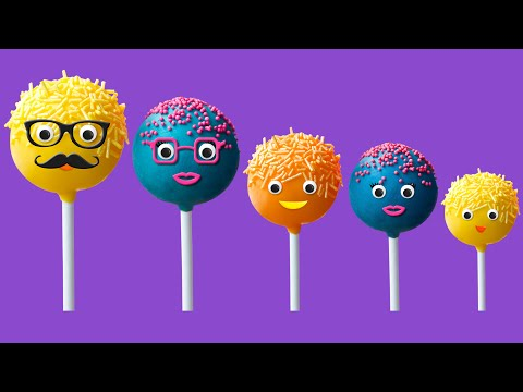 Thumbnail: The Finger Family Cake Pop Family Nursery Rhyme | Cake Pop Finger Family Songs