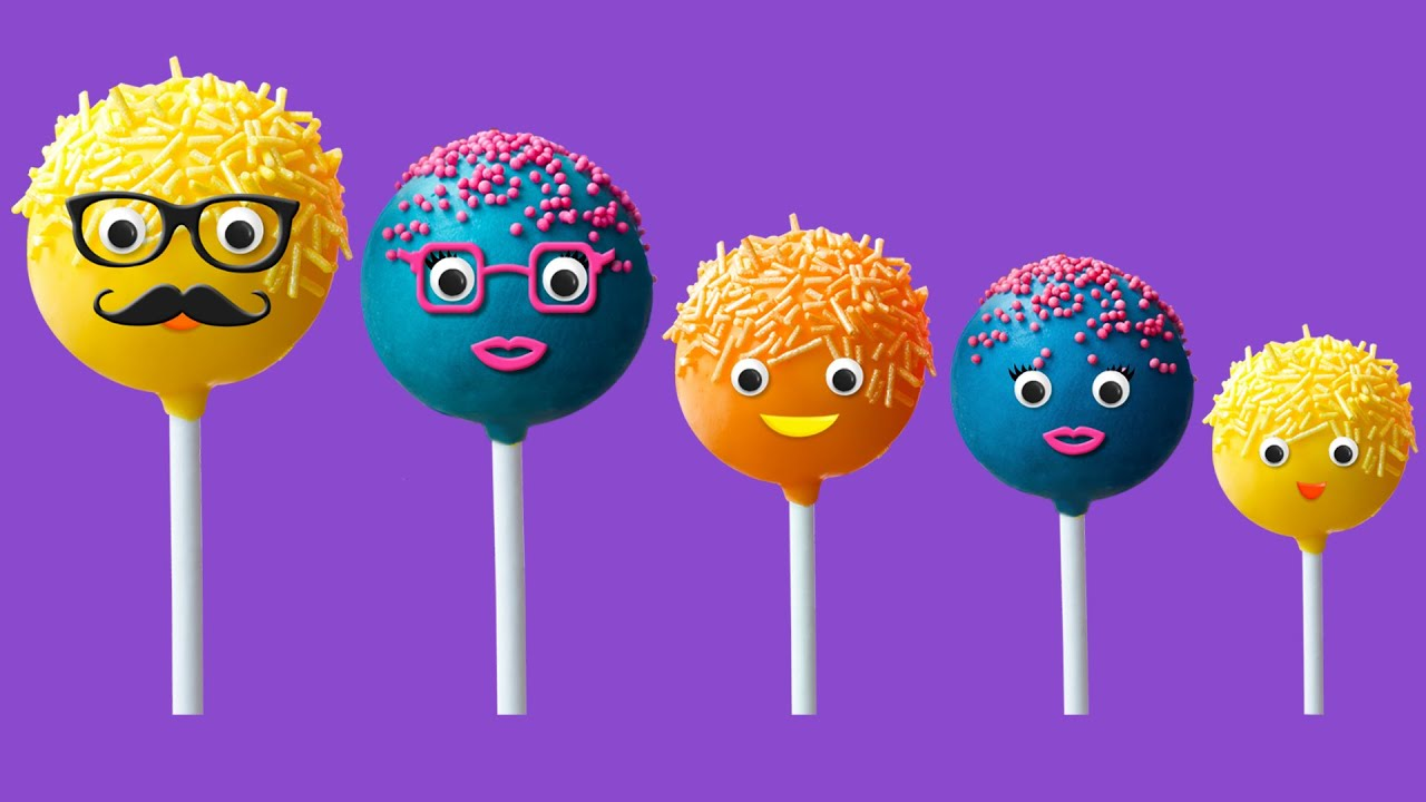 Cake Pop Finger Family