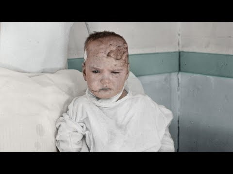 Colourized pictures of the Halifax Explosion's aftermath