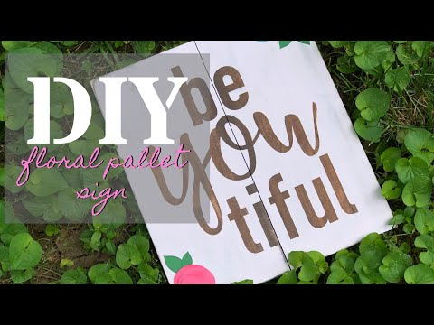 #cricut #stenciling #paint DIY how to paint a reverse stained sign using your Cricut, easy tutorial