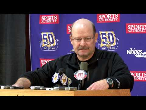 Brad Childress press conference