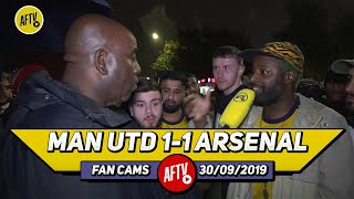 Man United 1-1 Arsenal | Xhaka's Too Slow For The Prem & Will Get Emery Sacked!! (Ben Randm)