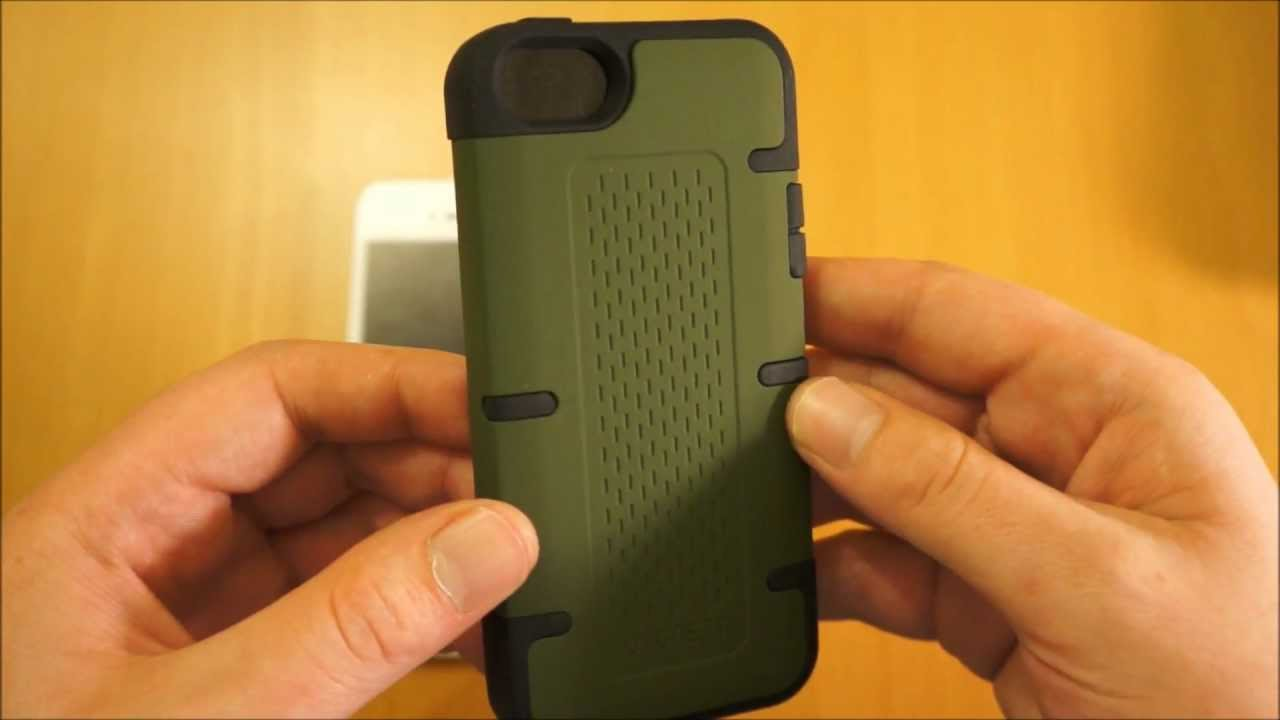 best service f6858 d45ff iPhone 5 Case Review - Cygnett Workmate Protective (Green)