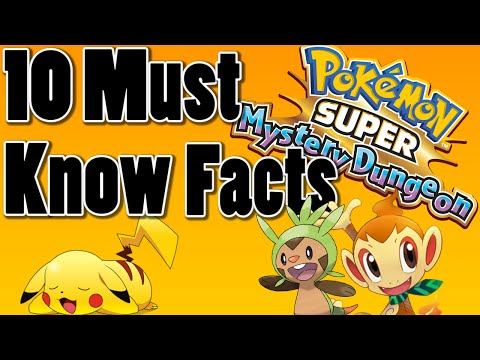 10 Pokemon Super Mystery Dungeon 3DS Facts You Must Know
