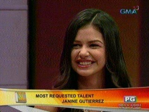 SC: Most Requested Talent: Janine Gutierrez