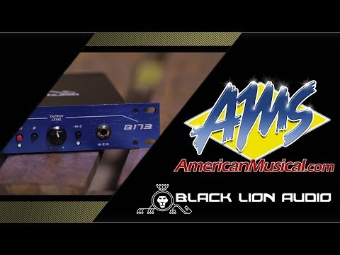 Black Lion Audio B173 Overview - American Musical Supply