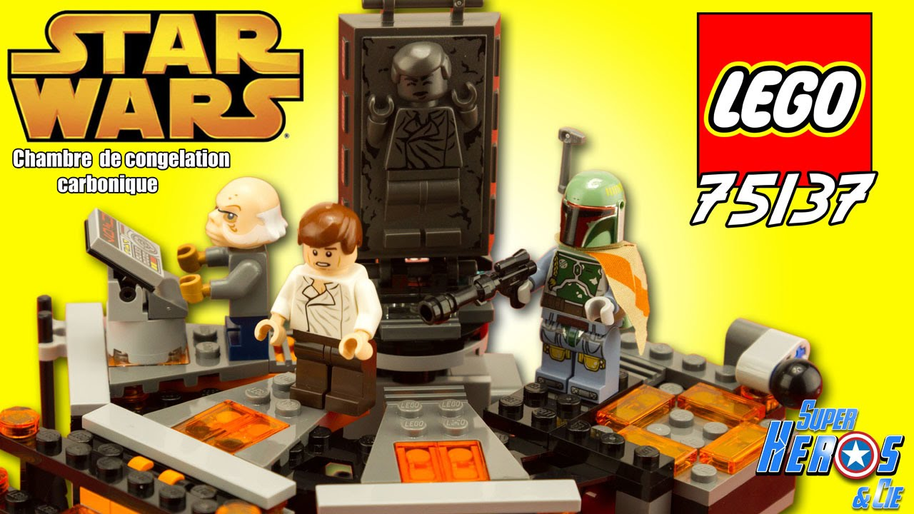 Deco Chambre Star Wars lego star wars carbon freezing chamber 75137 review speed build 4k 2016