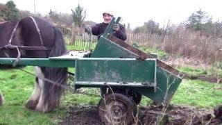 Handy Homemade Horse-drawn Transforming Cart / Trap