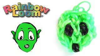 Как сделать из резинок - Игрушки из резинок Инопланетянин