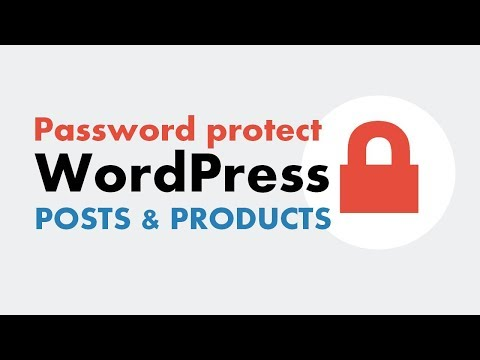 Password Protect Individual Posts, Pages Or Products In WordPress