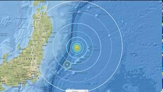 BREAKING: 6.2 magnitude earthquake strikes near Fukushima, 6.4 M off the coast of Vanuatu