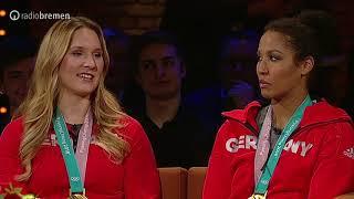Mariama Jamanka und Anschieberin Lisa Buckwitz über Olympia-Gold