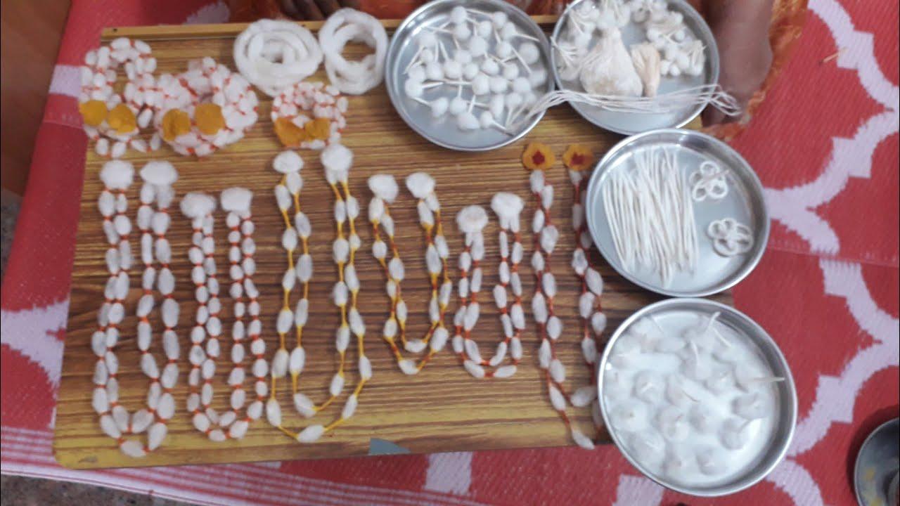 ಎಲ್ಲಾ ತರಹದ ಗೆಜ್ಜೆ ವಸ್ತ್ರ ಮಾಡುವುದಕ್ಕೆ ಈ ವಿಡಿಯೋ ನೋಡಿ| how to make gejje vastra with cotton