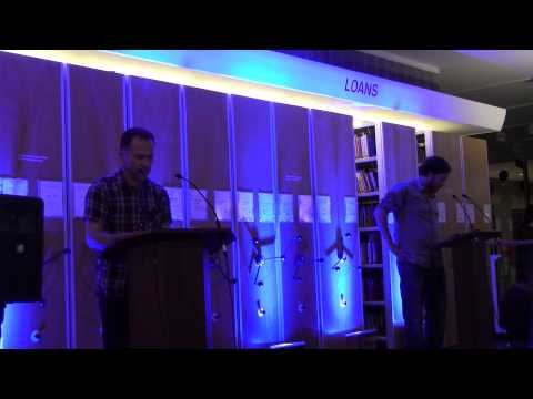 Camarade at the Poetry Library - James Davies & Philip Terry