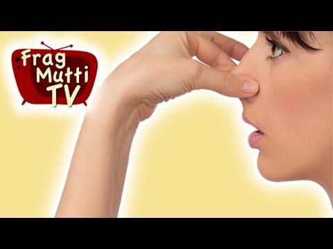 Schweißgeruch aus Kleidung entfernen | Frag Mutti TV