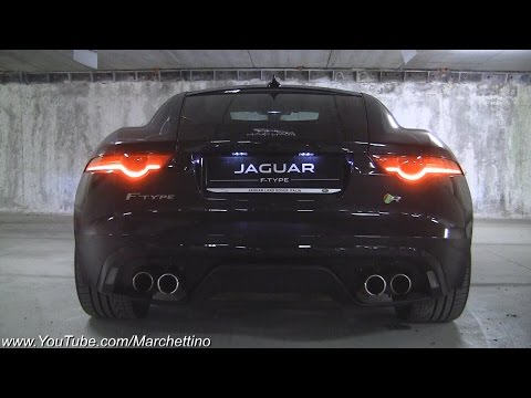 Jaguar F-Type R V8 Amazing Exhaust Note!