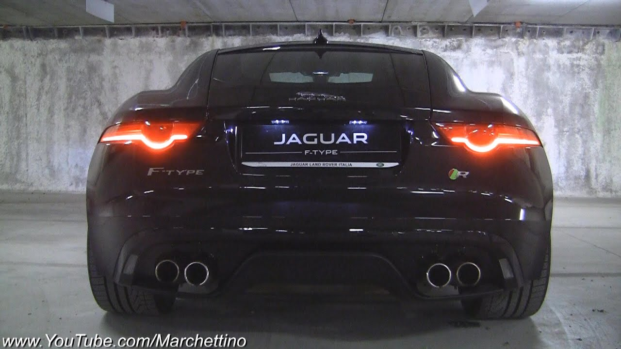 Jaguar F Type R V8 Amazing Exhaust Note!   YouTube