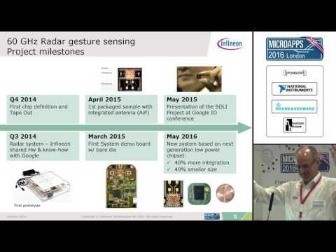 EuMW 2016 MicroApps Keynote: Google ATAP/Infineon 60GHz Sensing