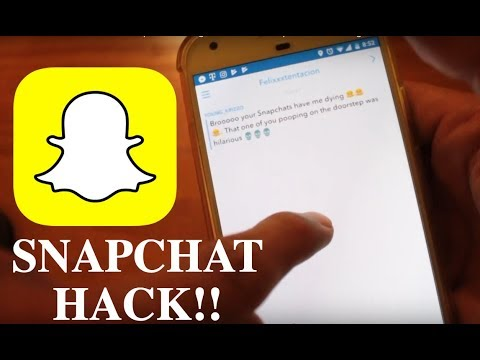 SNAPCHAT HACK 2019!! Open message without other person knowing! SUPER EASY!  NO ROOT NEEDED!!