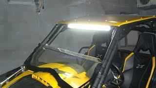 Мощные светодиодные фары дальнего света LED SPOTLIGHT S10180 SPOT(Мощные светодиодные фары дальнего света LED SPOTLIGHT S10180 SPOT (узкий луч дальнего света), однорядное расположение..., 2013-03-04T18:15:39.000Z)