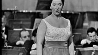 "Teresa Berganza sings ""Alma grande..."" W.A.Mozart"