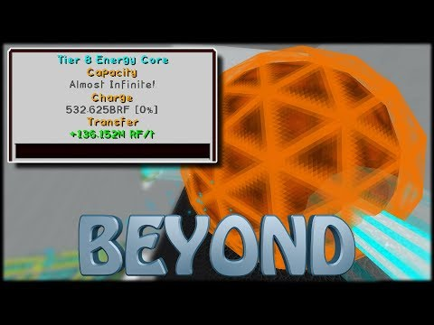 Unendlich Energie?! Tier 8 Draconic Core!! - Minecraft Beyond [#56] - FTB Beyond Modpack