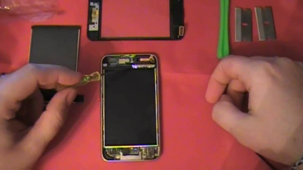 ipod touch lcd repair for 2g and 3g touch youtube rh youtube com iPod Touch 6th Generation iPod Touch 7th Generation