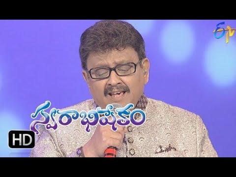 Nilavade Song | SP Balu Performance | Swarabhishekam | 21st January 2018 | ETV Telugu