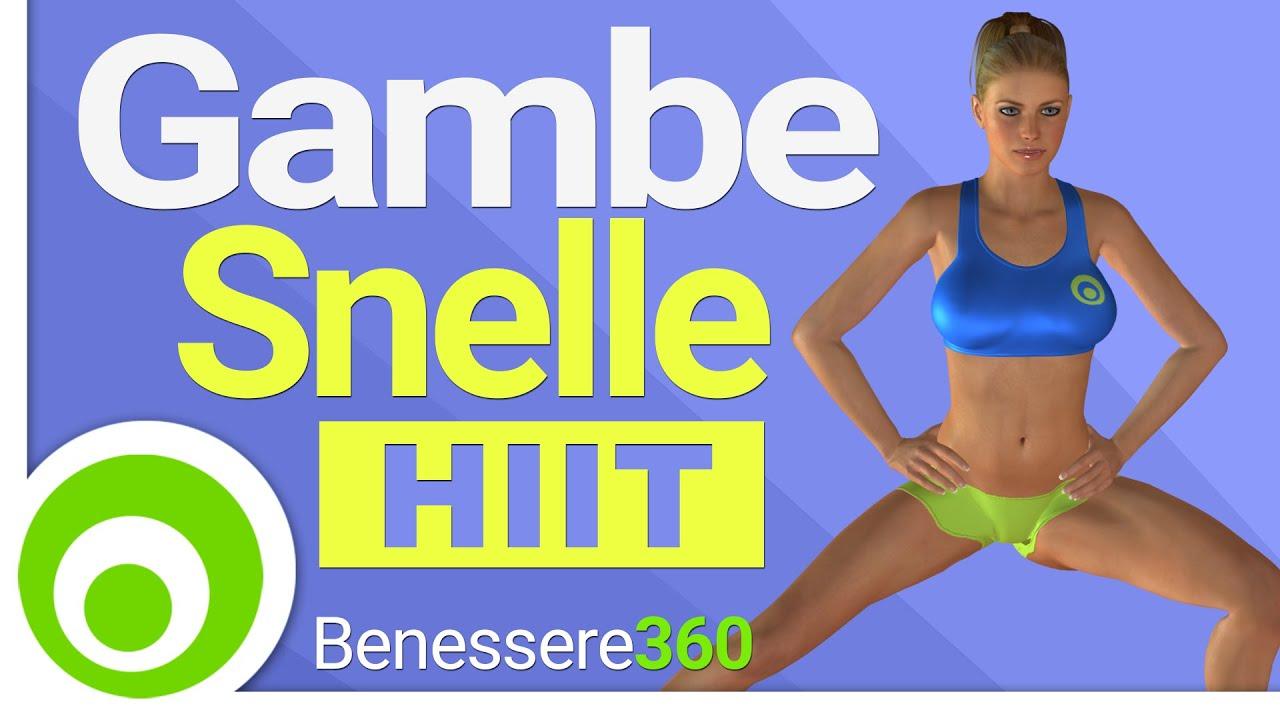 Gambe snelle allenamento per dimagrire le gambe esercizi for Dimagrire interno coscia benessere 360