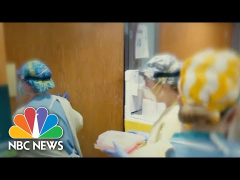 Michigan Battles Surge In New Covid Cases   NBC Nightly News