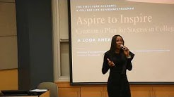 Ms. Shaun Gayle, Assistant City Manager/Spokesperson, City of Miramar Speaks at Aspire to Inspire