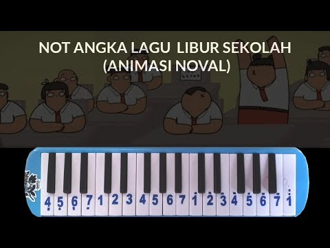 Not Pianika Lagu Libur Sekolah Mantap Jiwa (Animasi Nopal)