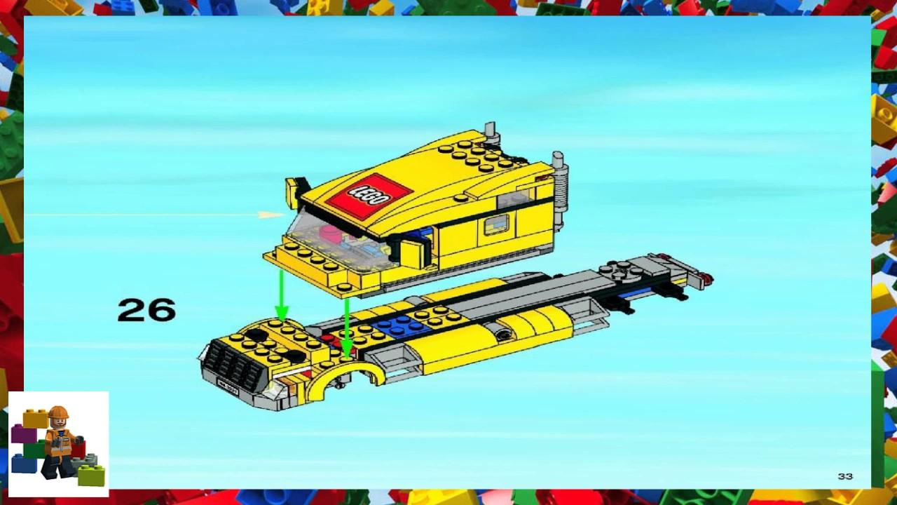 LEGO instructions - City - Traffic - 3221 - LEGO City ...Lego City Truck Instructions