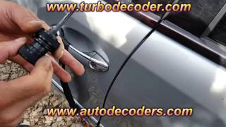 TURBO DECODER mercedes benz hu64 open trunk LOCK