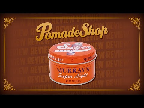 Eine echte Glanz-Bombe!   Murray's Super Light Pomade Review   english subtitles