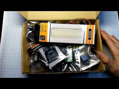 Полный Arduino RFID KIT с Aliexpress Обзор набора