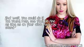 Iggy Azalea - Impossible Is Nothing (Lyrics Video) HD