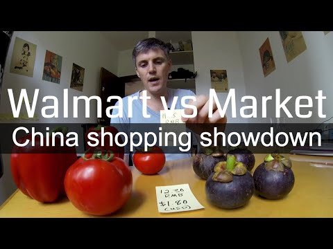 Walmart vs the Market: A China Shopping Showdown