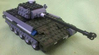 Panther из lego. Tutorial
