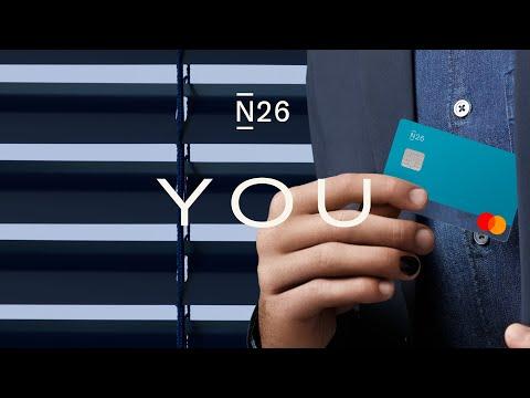 N26 You bank account - Ocean