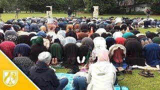 Zuckerfest in Düsseldorf: 300 Muslime beten im Volksgarten
