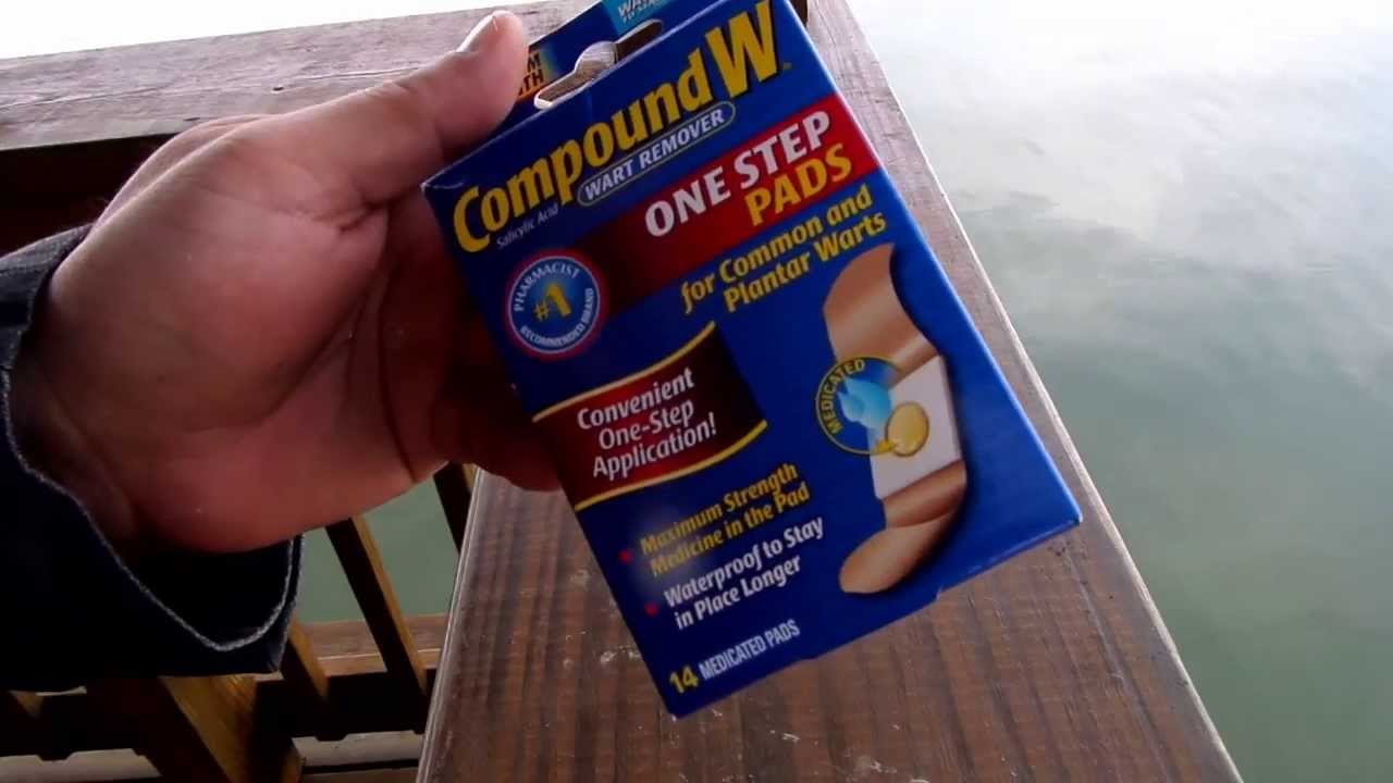 Compound W One Step Pads Product Review Youtube