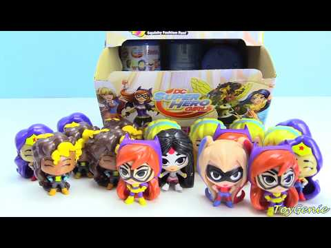 DC Super Hero Girls Fashems Wonder Woman, Super Girl, Katana