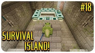 ✅ MINECRAFT - SURVIVAL ISLAND - THE STRONGHOLD! Episode 18