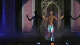 Rachid Alexander, Baladi Taqsim and Drum Solo , Male Belly dance