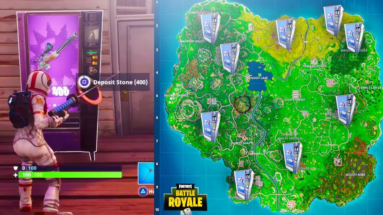 how to find vending machines in fortnite - where to find vending machines in fortnite