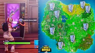 How To Find Vending Machines in Fortnite! Vending Machine Spawn Locations! (Fortnite Battle Royale)